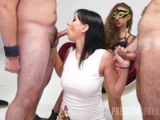 Boobs And Pussy Porn Fucking, Sherry Vine 1- Bukkake Babe Brunette Blowjob Bukkake Cumshot Gangbang