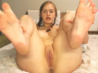 SchoolGirl Foot JOI Fetish Teen (23 Aug 2019)