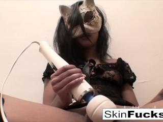 Very nau pussy play with Sexy Skin Skin Diamond