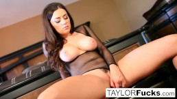 Wine closet masturbation with big tit Taylor Vixen
