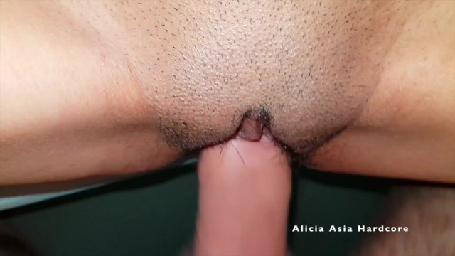 Fast Hard Fuck in Tight Pussy - Asian Thai Teen get (中出)creampie in Tight Pussy