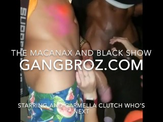 Who's Next's The Macanax And Black show starring Carmela_Clutch (24 Aug 2019)