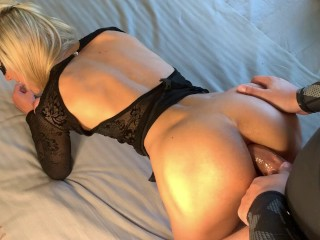 Hot Euro Tinder Date Sucking Daddy Dick & Loves Nasty Ass Fuck