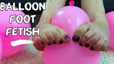 Balloon Foot Fetish