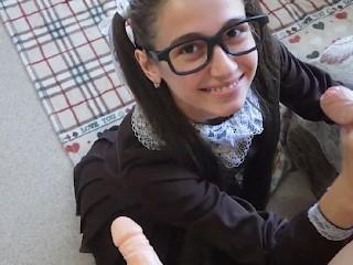 Cutie Schoolgirl Needs Two Dicks After School MaryViX