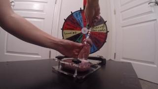 Wheel Of Misfortune - Take # 2 - CBT Wheel Of Post Orgasm Torture - CuMsHoT
