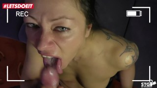 AMATEUR EURO - Real Germany Couple Homemade Sex Tape With Cum In Mouth