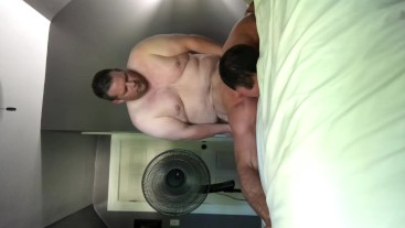 Superchub gets sloppy head and fucks chaser hard
