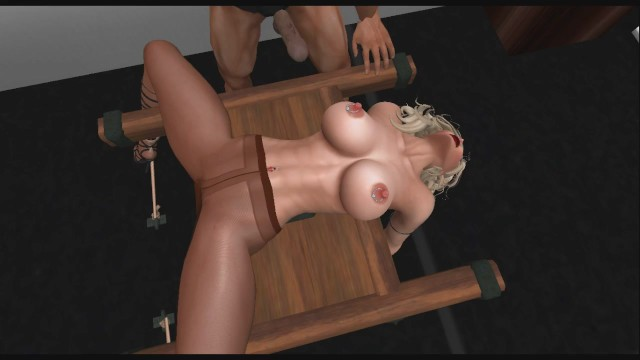 Bdsm on table Pantyhose bdsm table phantasy