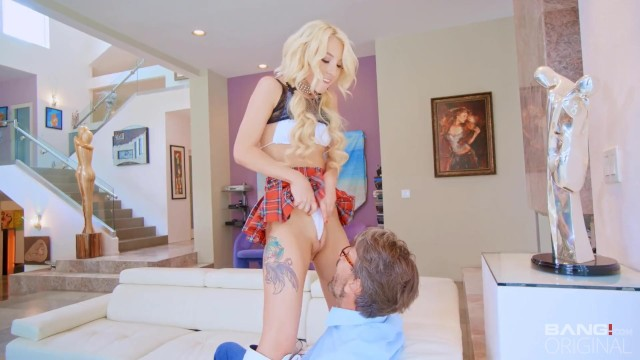 BANG Surprise - Petite Blonde Kenzie Reeves Fucked Anal