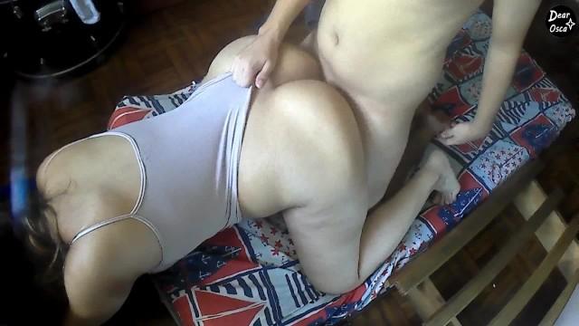 Hot Big Tit Brunette Milf