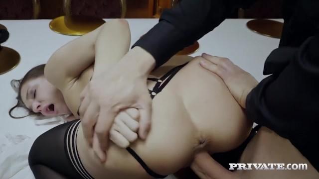 Private.com - Hot Horny Maid Henessy Fucks Rock Hard Dick!