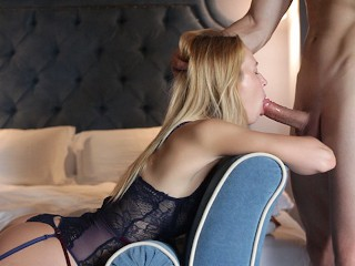 Mistress Helena Beautiful Blonde Gets Satisfied And Creampied By Her Lover - Full Version