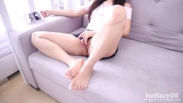 Pinay StepSis Get Caught Masturbating While Watching Porn By StepBro