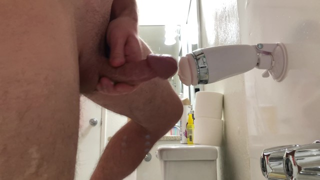 Doll man sex toy Testing and cumming with sex toy