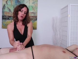 Milf Candi made Him Cum Milf Massage