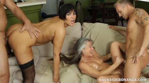 Senior Swingers Porn Captions