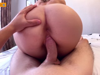 GF AFTER THE RED WEEK FOR THE FIRST TIME SAT ON THE DICK  CREAMPIE 4K (28 Aug 2019)