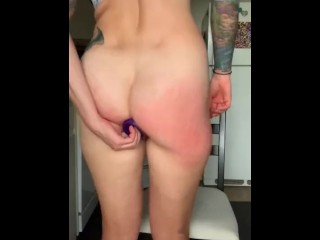 Lucky Laney Ass Fucking Herself Like A Good Girl (29 Aug 2019)