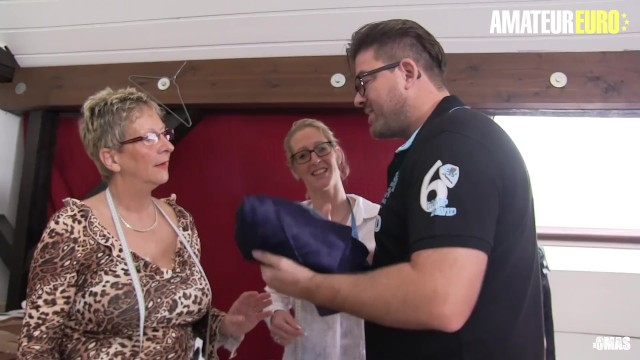Oma xxx de - Amateureuro - busty german mature babes ride a thick cock