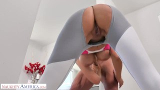 Naughty America - Reagan Foxx fucks her Neighbor