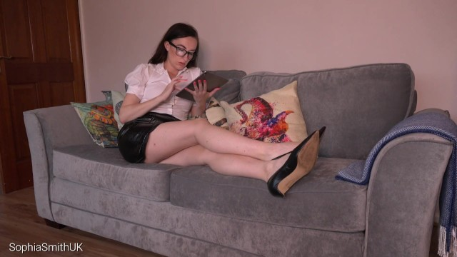 Naked sophia mules A distracted accountant part 2 shoe fetish
