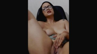 Female Solo ♥(ˆ⌣ˆԅ) Busty Young Latina ♥(ˆ⌣ˆԅ) While Family Are At Home!