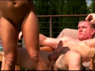 Sexy Redhead Teen Drowning Her Pussy With Big Cock