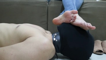 Goddess JMACC - Three ways to rest my feet: mouth (First Place) (Trailer)