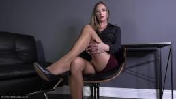 Corporate Therapy - Pantyhose Domination Femdom POV Star Nine FULL VIDEO