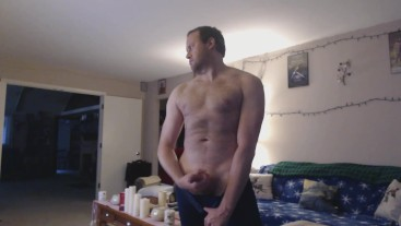 Stripping, Showing Off, and Wanking to Porn