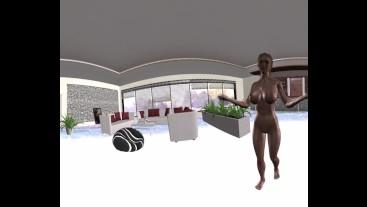 VR 360 Amish Girls - A Sexy Erotica Hentai Anime Cartoon Storytelling