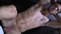 Sexy Jock Pisses Off Daddy And Submits To Punishing Bareback Cherry Popping