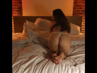 Our first real amateur porno Ft my orgasm and his cumshot finale