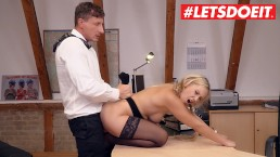 LETSDOEIT - Big Ass Secretary Lena Nitro Fucks On Work Office Desk