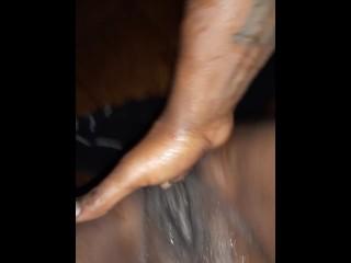 Super Squirting Ebony Pussy