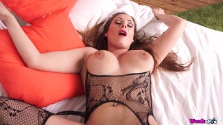 Moms Horny Friend Fucks Herself But Needs A Real Cock For The Wet Shot