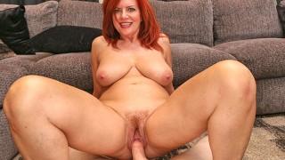 amateur natural ginger milf sex