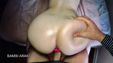 Anal Plug Doggystyle For Young Teen Pawg Bambi Araki From Big Cock Daddy