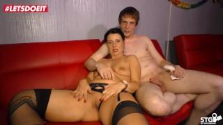 AMATEUR EURO - German Couple Makes A Sextape For Fun