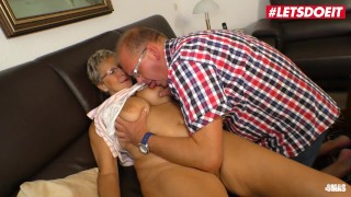 AMATEUR EURO - German Busty GILF Has Sensual Sex With Lover