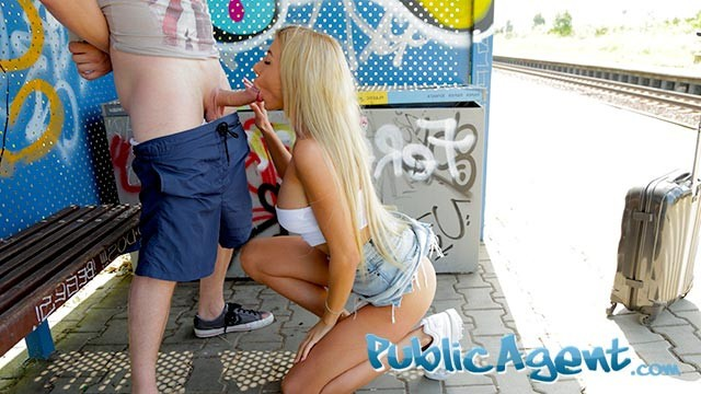 Naked ebony gas station kwg hc1 - Public agent train station public sex with beautiful woman