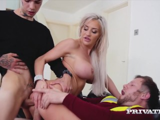 PrivateCom Sex Fiend Sienna Day Gets DPd By Big Cocks Sienna Day