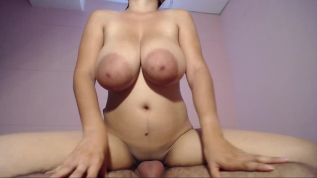 a good oral and cream on her tits