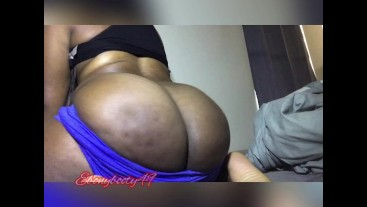 blue shorts bubbly ebony farts