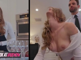 Pounding Rough Anal Look At Her Now - Skinny Ginger Ashley Lane Likes It Rough