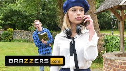 Brazzers - Cute French teen Alice Fabre gets pounded by a big dick