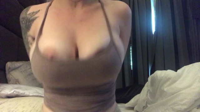 Huge Tits Popping Out Of Tank Top Pornhub Com