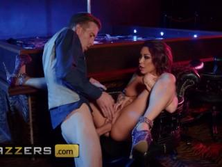 Brazzers – Big tit inked stipper Monique Alexander takes big dick