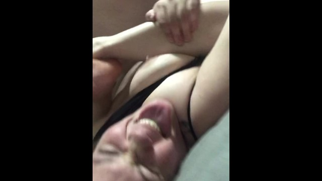 Fucking a fat girls folds - Chubby babe getting folded and fucked hard